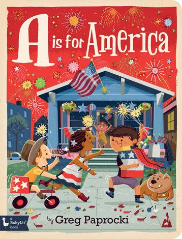 Christmas In America Book.A Is For America