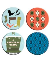 Button-Christmas Carol pack
