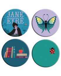Button-Jane Eyre Pack